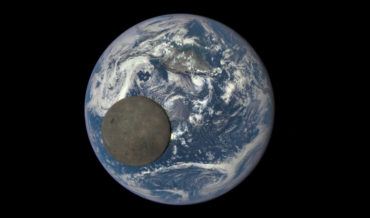 Whoa: The Moon Transitioning Earth As Seen From The Other Side