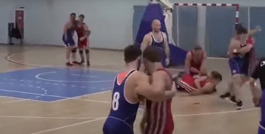 Regball, Russia's Crazy Basketball/Wrestling/Rugby Hybrid Sport