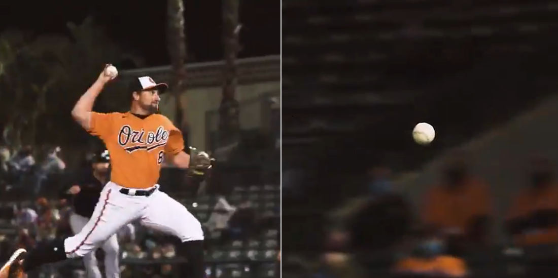 Whoa: Watch An Unspinning 70MPH Knuckleball In Slow Motion