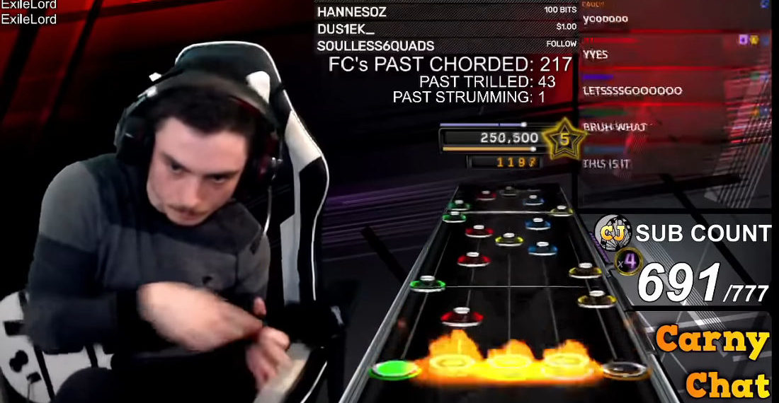 After Ten Years A Guitar Hero Player Has Managed To 100% 'Impossible' Song