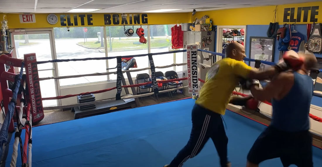 Tough Guy Walks Into Boxing Gym, Challenges Coach To A Fight, Does Not Win