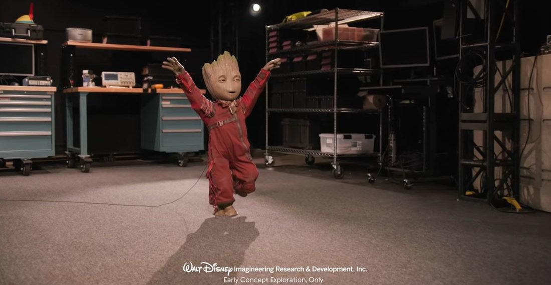 Disney Demonstrates Its Free-Walking Animatronic Baby Groot