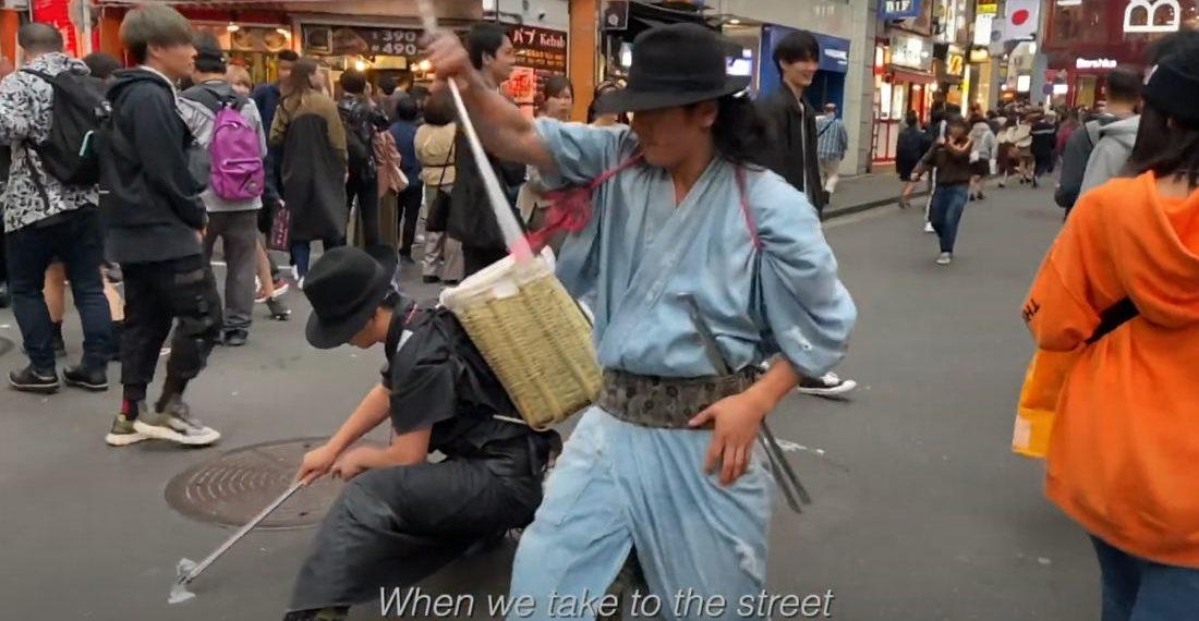 Shibuya Japan's Litter Collecting Samurai