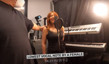 World Record For Lowest Vocal Note Reached By A Female
