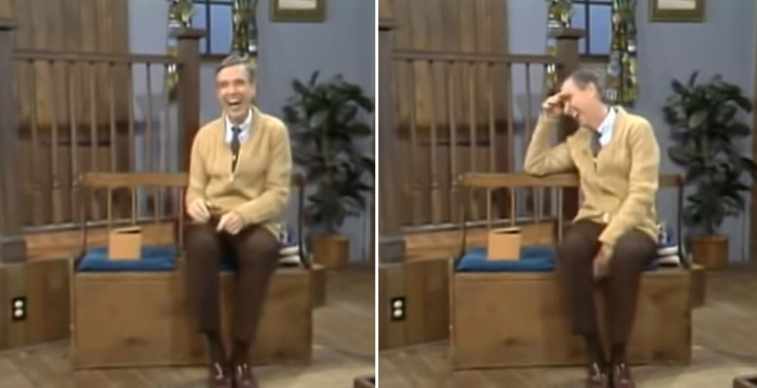 Mister Rogers Gets Pranked By Crew With Too-Small Shoes, Takes It Like Mister Rogers