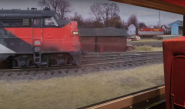 Holy Smokes: Man Gives Tour Of Model Railway From POV Inside A Train Car