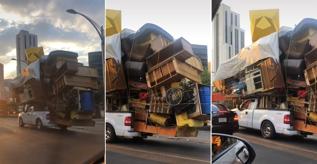 And The Most Overloaded Truck Of All Time Goes To…