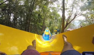 Whee!: A 4-Minute POV Ride Down The World's Longest Water Slide