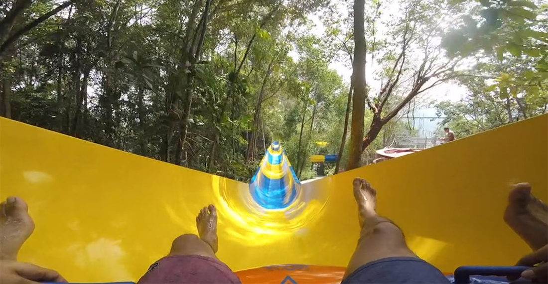 Whee!: A 4-Minute POV Ride Down The World's Longest Water Slide