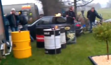 What Could Go Wrong?: Firing A Cannon In Backyard