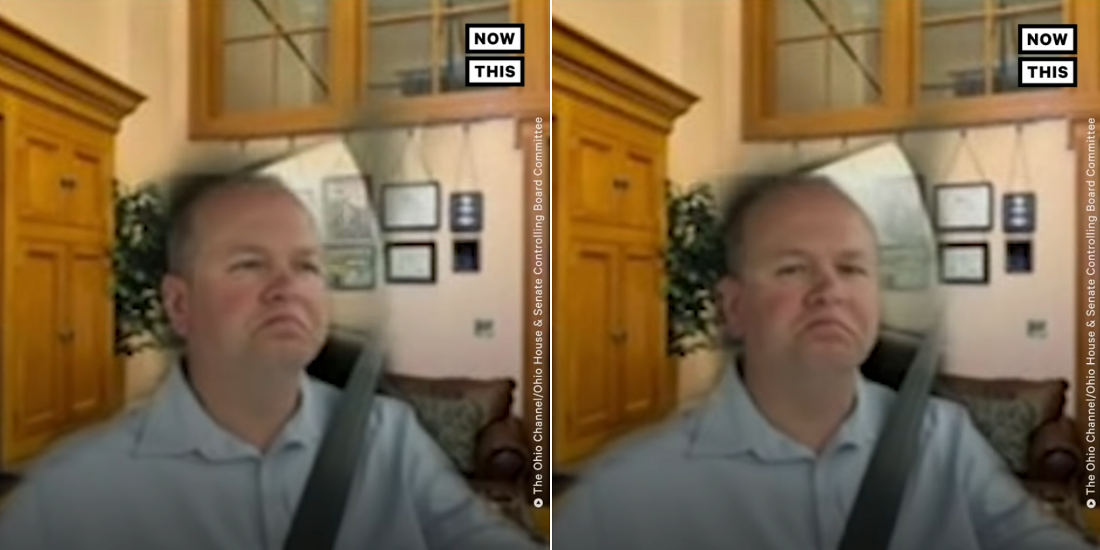 State Senator Attends Zoom Meeting While Driving W/ Unconvincing Office Background