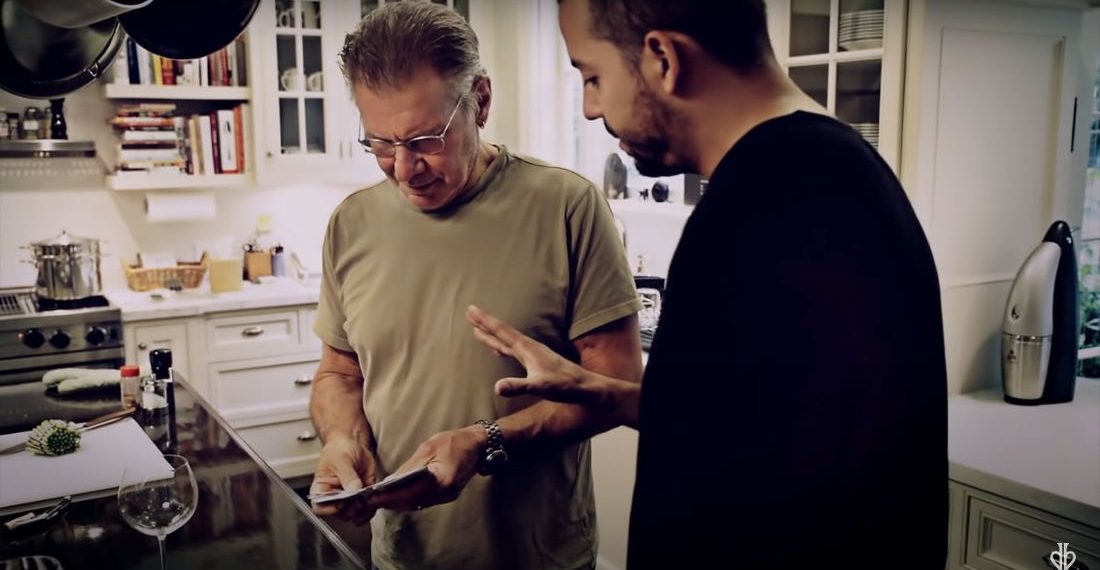 David Blaine Blows Harrison Ford's Mind With Card Trick