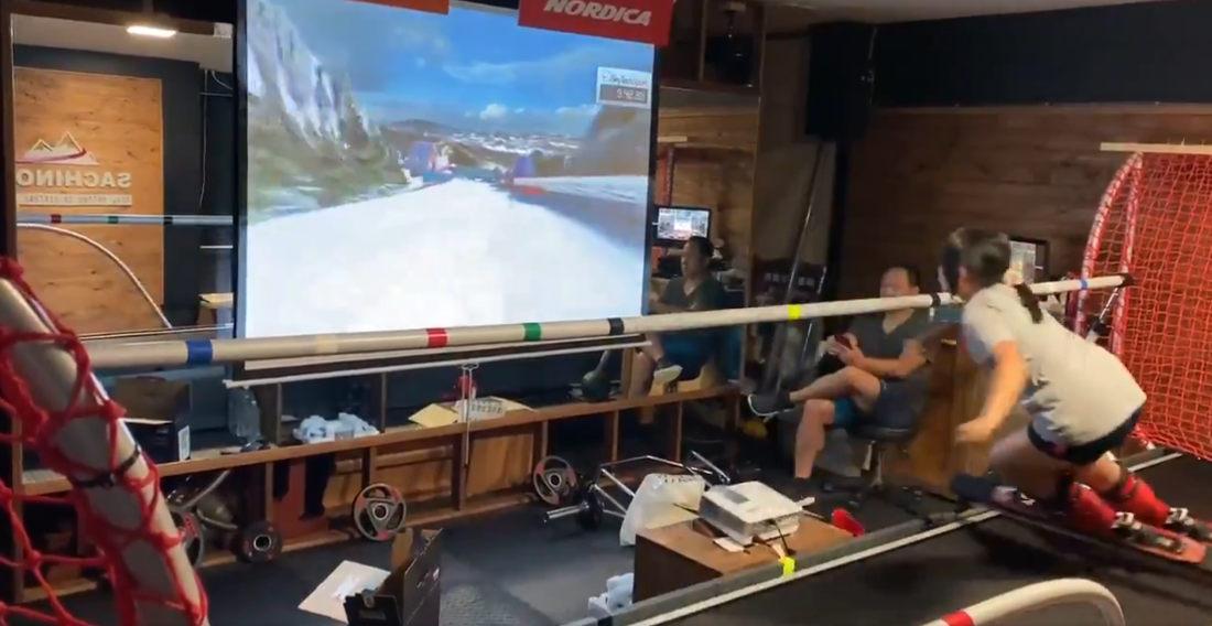 High Tech Ski And Snowboard Simulator: My Body Hurts Just Watching