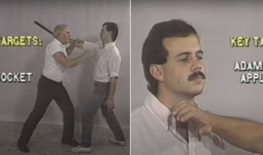 Old Man's 'Total Self Defense' Training Tape From The 90's