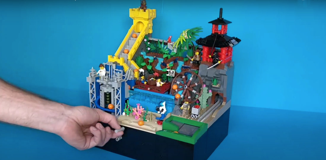 Incredible Great Ball Contraption Up For Support On LEGO Ideas