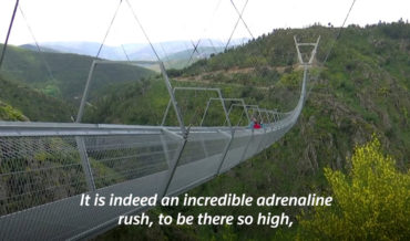 Nope: Portugal Opens World's Longest Footbridge 600-Feet Above River