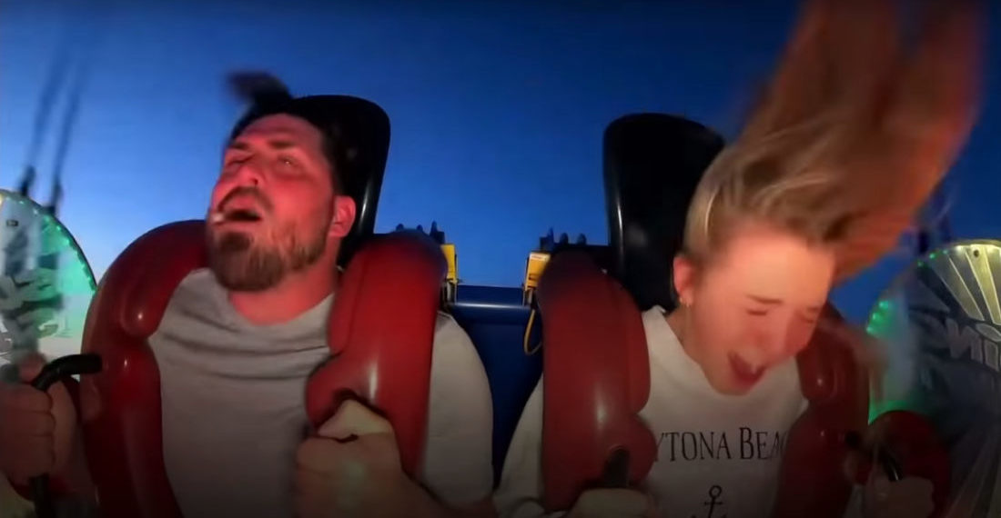 It Happens: Man Loses Fake Tooth On Slingshot Ride
