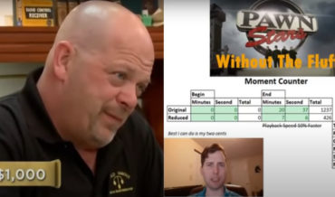 Man Edits Fluff From An Episode Of Pawn Stars, Leaving 7 Minutes
