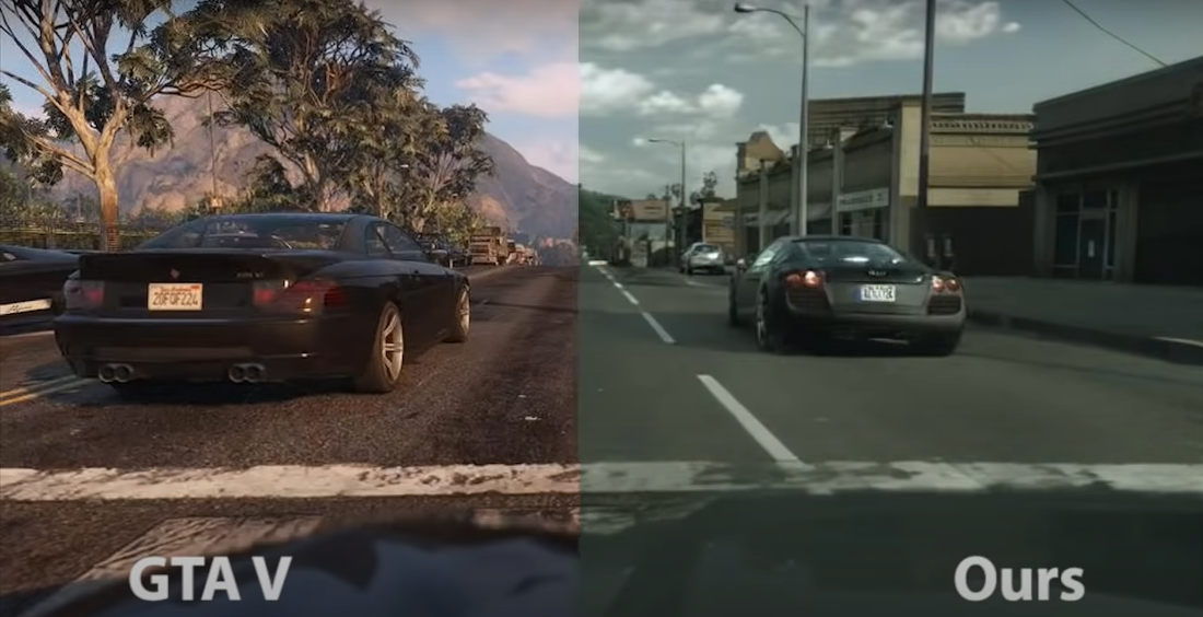 The Future Nears: Photorealistic Rendering Of Grand Theft Auto