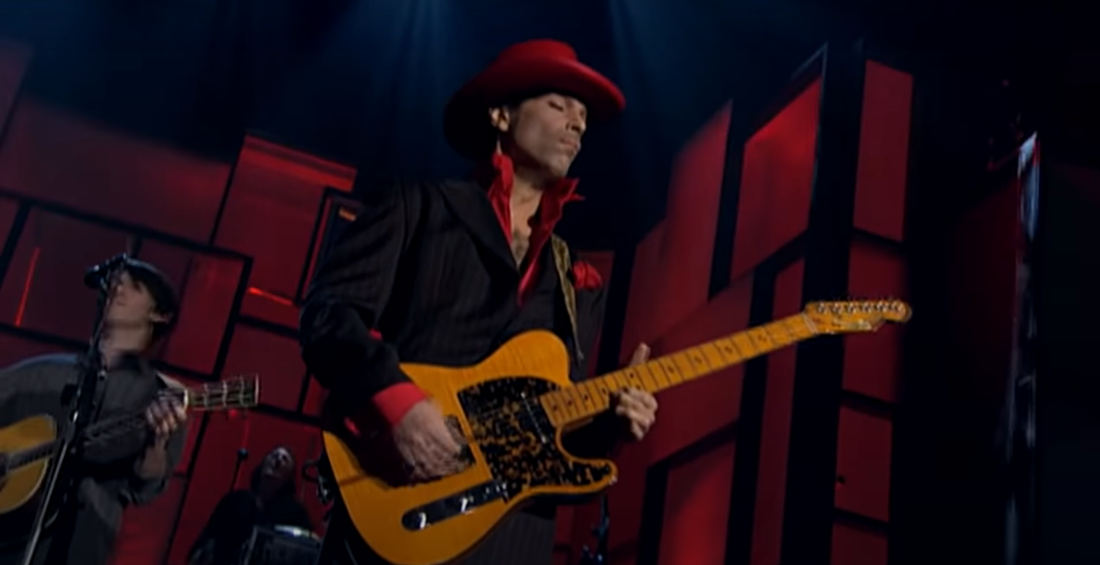 Prince's Guitar Solo From All Star Performance Of 'While My Guitar Gently Weeps' Gets A Director's Cut