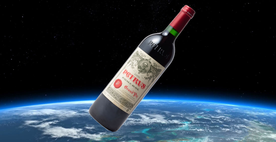 Bottle Of Wine Aged In Space Aboard ISS Expected To Fetch $1-Million At Auction