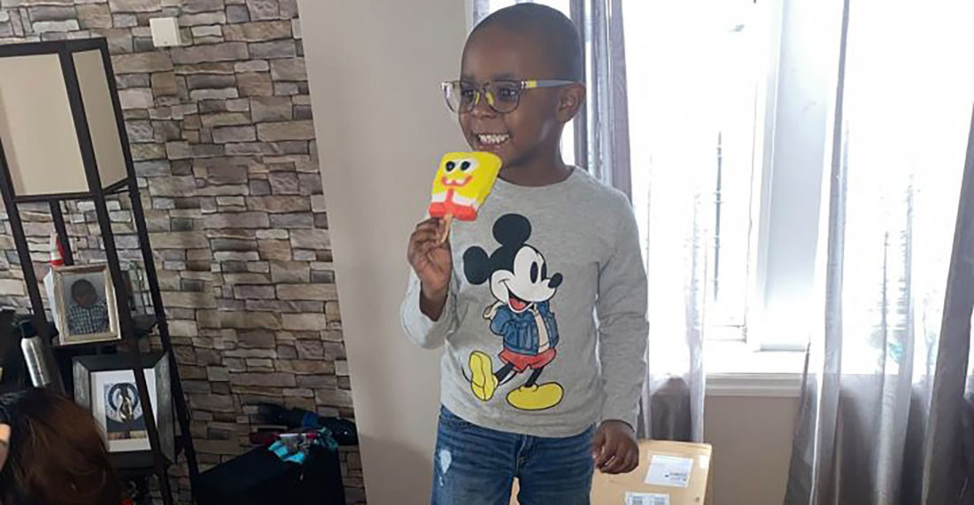 4-Year Old Accidentally Orders $2,600 Of SpongeBob Popsicles Using Mom's Amazon