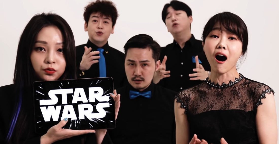 A Cappella Quintet Performs The Star Wars Theme