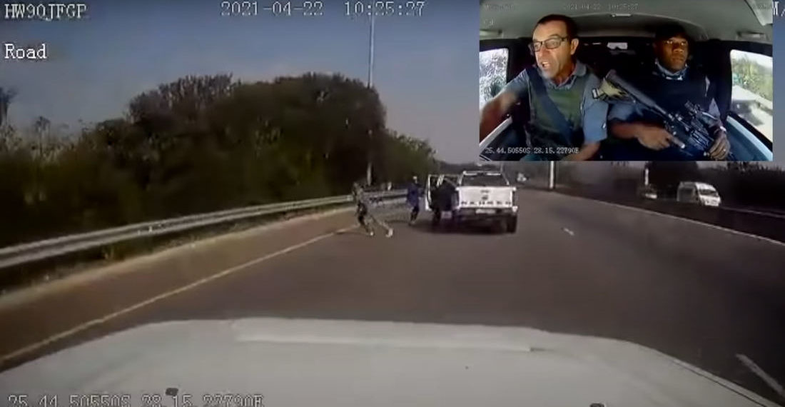 Attempted In-Transit Heist With Dashcam and View Of Driver Synced