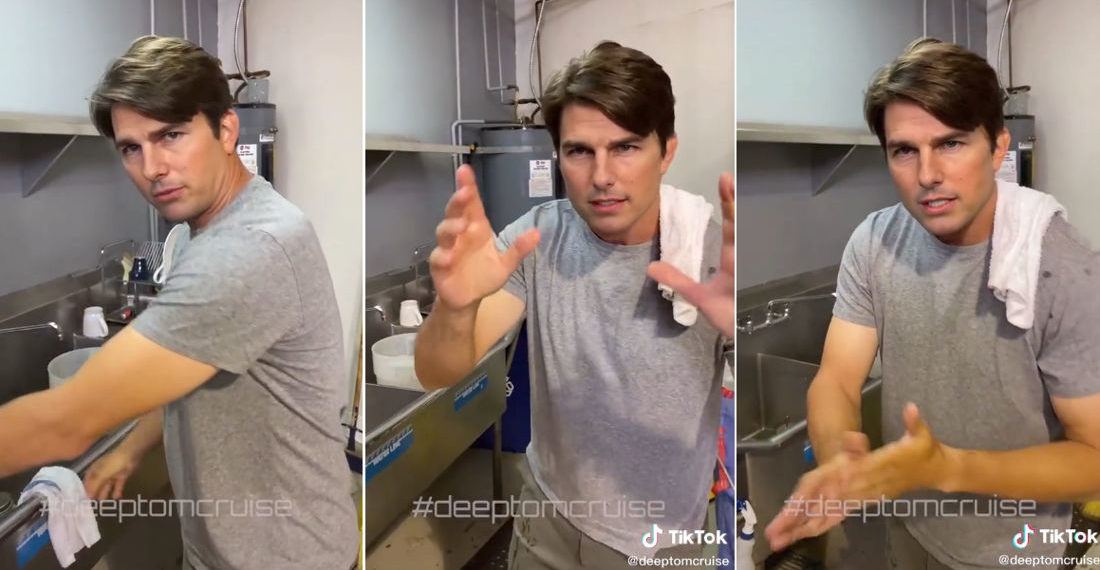 Tom Cruise Deepfake Discussing Industrial Cleanup Is Hard To Believe It Isn't Him