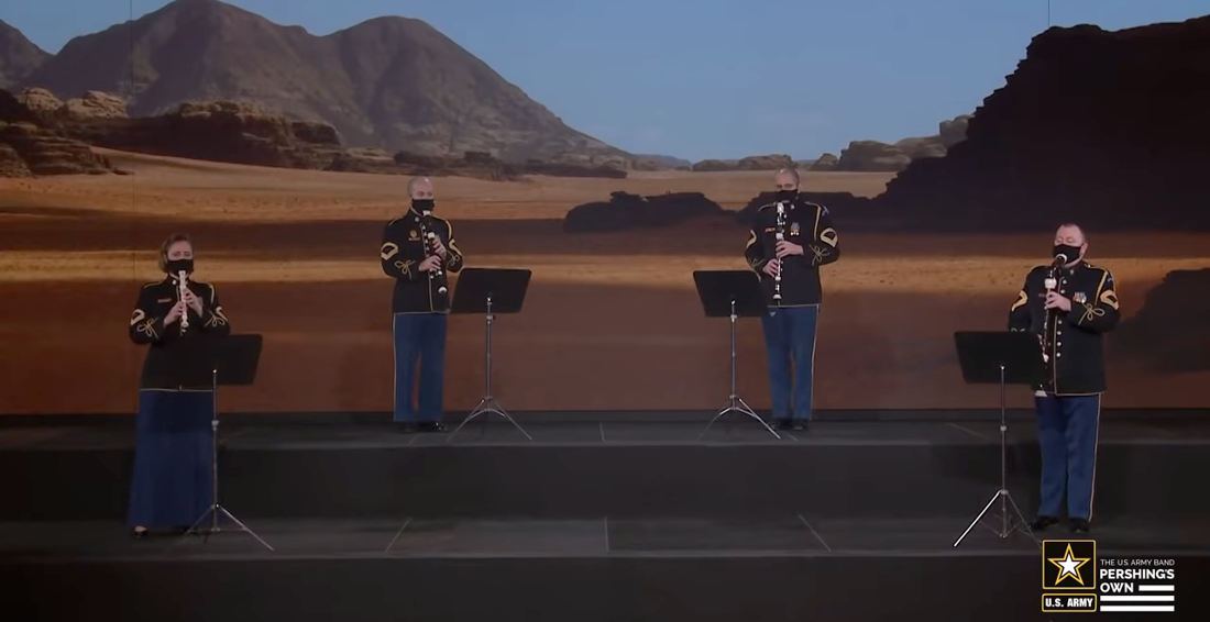 The US Army Band Performs 'The Mandalorian' Theme