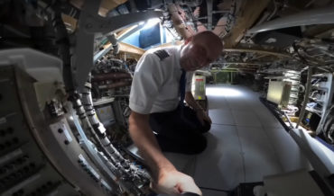 Pilot Gives Tour Of All The Secret Areas Aboard An Airbus 350