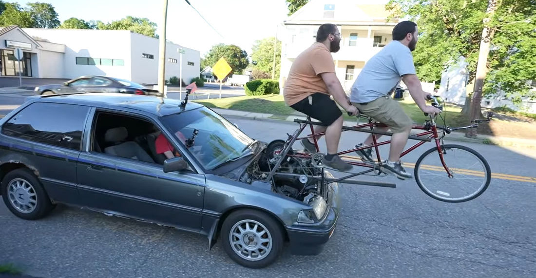 Creating A Tandem Bicycle Powered Car