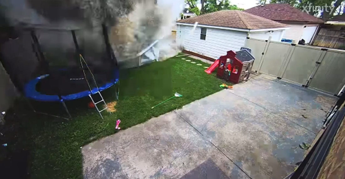 WTF!: Distracted Driver Obliterates Above-Ground Pool