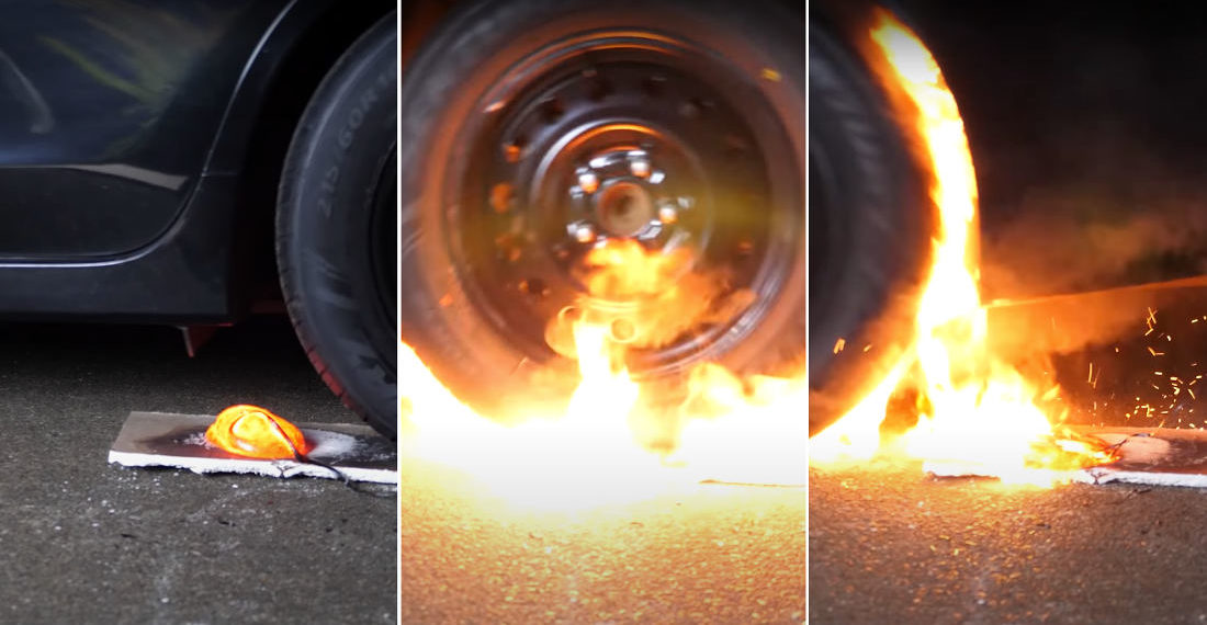 What Happens If You Drive Over A Little Lava