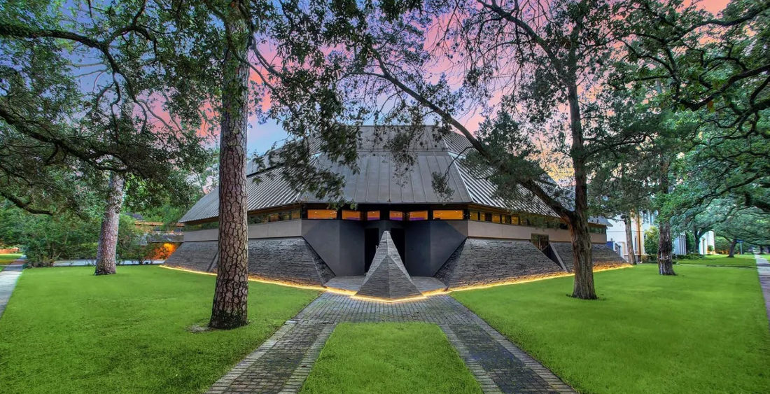 Mansion Inspired By Darth Vader's Helmet For Sale In Houston
