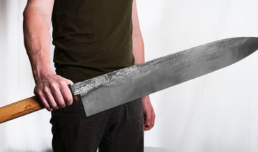 Forging The World's Largest Chef's Knife