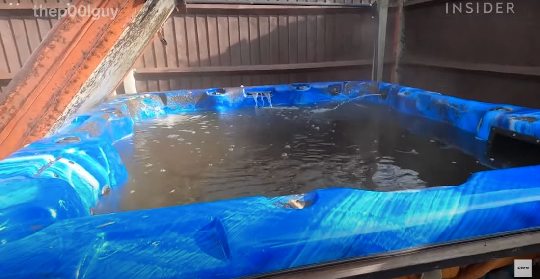 Professional Pool Cleaner Details Cleaning The Dirtiest Hot Tub He's Ever Cleaned