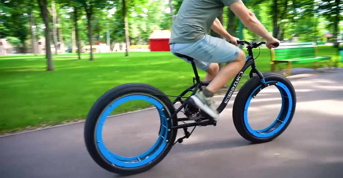 Building A Hubless, Chain-Driven Bicycle