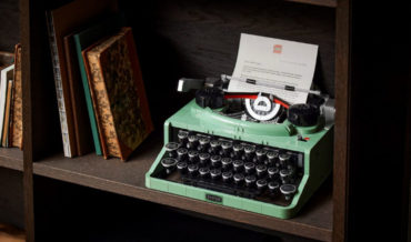 LEGO Releasing A 2,079-Piece Typewriter Set