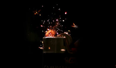 Watching A Lighter Ignite In Hypnotic Ultra-Slow Motion