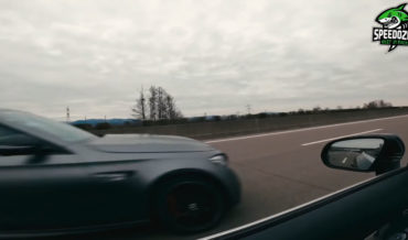 What It Looks Like Getting Passed On The Autobahn By Car Doing 206MPH
