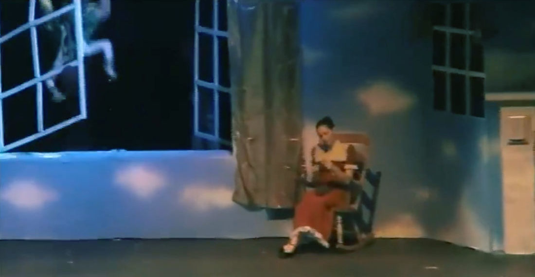 Coming In Hot!: Peter Pan Crashes Through Window In High School Play