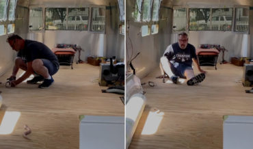 Woman Pranks Husband With Realistic Remote Controlled Snake