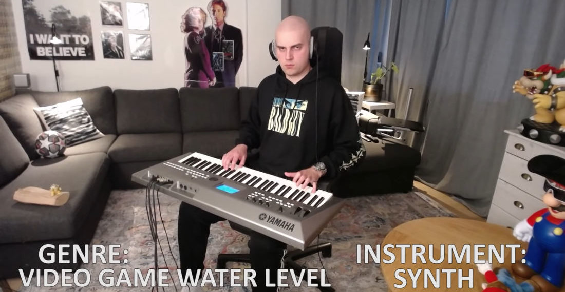 Nirvana's 'Smells Like Teen Spirit' Performed On Synth In Unique Musical Styles