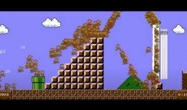 Video Composite Combines 5,162 Attempts Of Speedrunning Super Mario Bros.