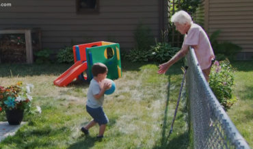 BFFs Forever: Friendship Blossoms Between 2-Year Old And 99-Year Old Neighbors