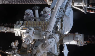 Stunning Timelapse Of Astronauts Spacewalking While Upgrading The ISS