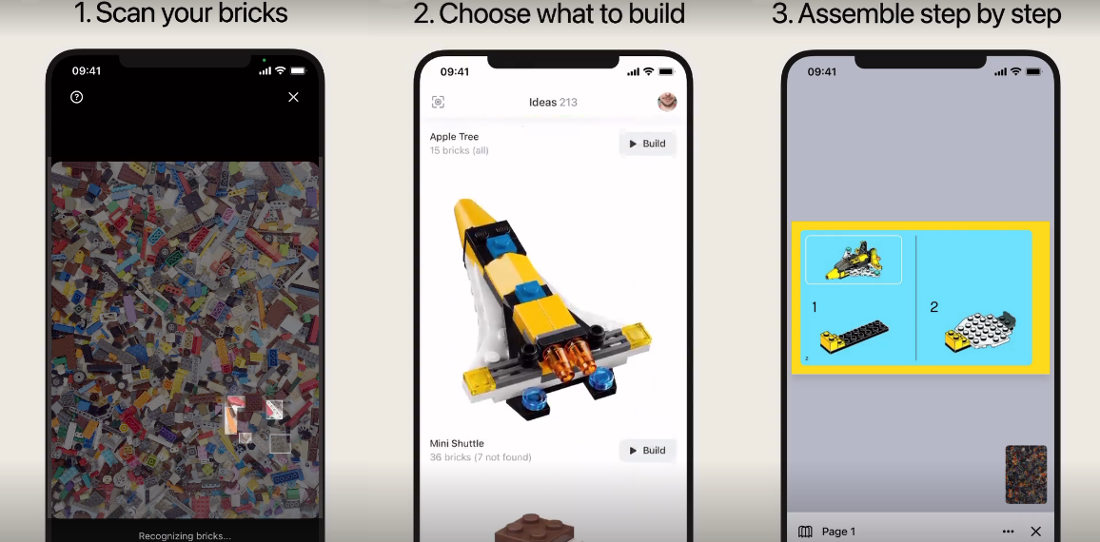 App Can Analyze Photo Of Loose LEGO Pieces, Identify Them All, Suggest Builds