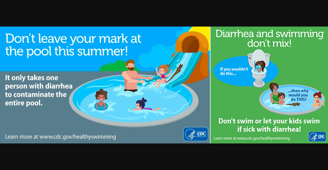 The CDC's Graphic Cartoon Warnings To Not Let Your Kids Swim With Diarrhea