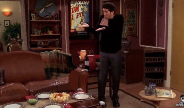 'Friends' But Ross Is Talking To Himself The Whole Time
